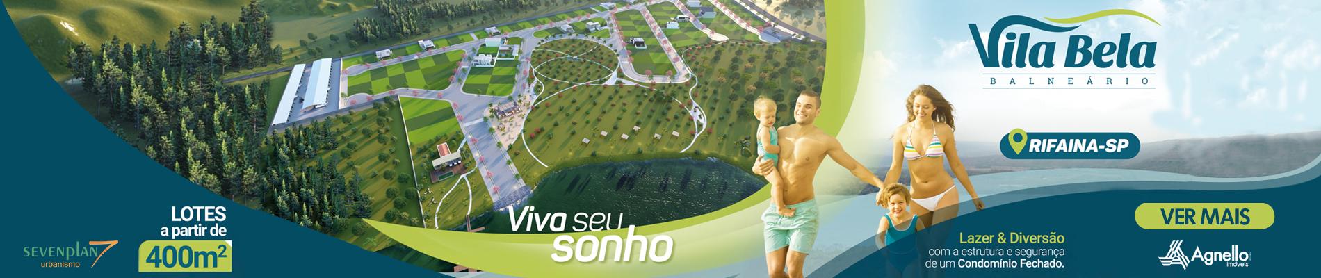 Balneário Vila Bela Rifaina SP - Agnello Imóveis