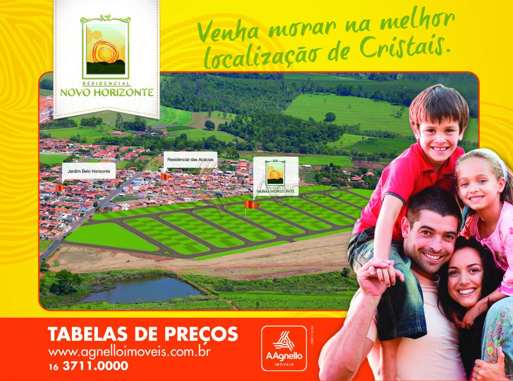 Cristais Paulista Novo Horizonte Terreno Venda R$94.900,00  Area do terreno 350.00m2