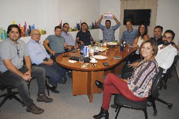 Equipe de vendas participa de campanha da Perplan